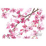 Stainless Steel Tumbler, Cherry Blossom