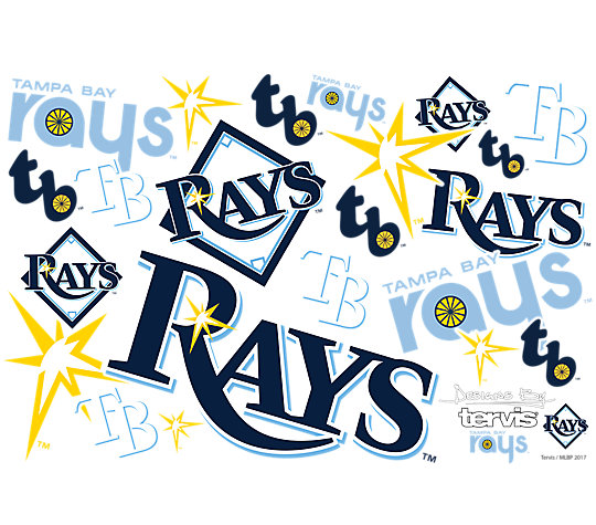 MLB® Tampa Bay Rays™ All Over image number 1