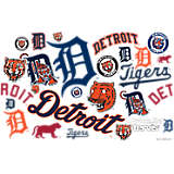 MLB® Stainless Steel Tumbler, Detroit Tigers™ All Over