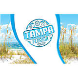 Florida - Tampa and St. Pete Stamp
