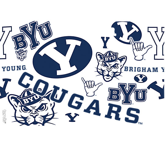 BYU Cougars All Over image number 1
