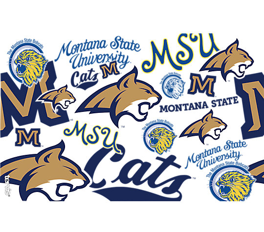 Montana State Bobcats All Over image number 1
