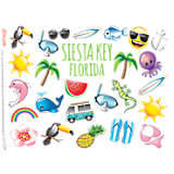 emoji™ - Tropical Siesta Key Florida