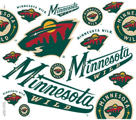 NHL® Minnesota Wild® All Over image number 1