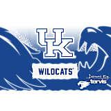 Stainless Steel Tumbler, Kentucky Wildcats