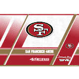 NFL® Stainless Steel Tumbler, San Francisco 49ers Edge