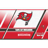 NFL® Stainless Steel Tumbler, Tampa Bay Buccaneers Edge