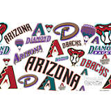 MLB® Stainless Steel Tumbler, Arizona Diamondbacks™ All Over