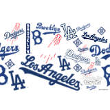 MLB® Stainless Steel Tumbler, Los Angeles Dodgers™ All Over