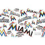 MLB® Stainless Steel Tumbler, Miami Marlins™ All Over