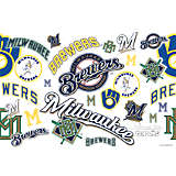MLB® Stainless Steel Tumbler, Milwaukee Brewers™