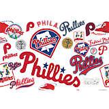 MLB® Stainless Steel Tumbler, Philadelphia Phillies™ All Over