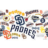 MLB® Stainless Steel Tumbler, San Diego Padres™ All Over