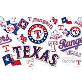 MLB® Stainless Steel Tumbler, Texas Rangers™ All Over