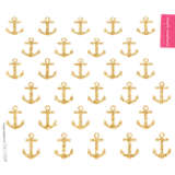 Simply Southern® - Gold Anchors