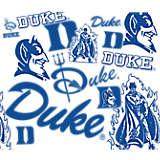 Duke Blue Devils All Over