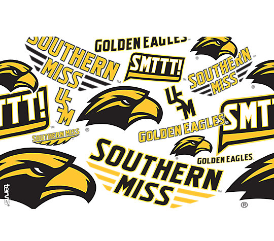 Southern Miss Golden Eagles All Over image number 1