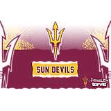 Stainless Steel Tumbler, Arizona State Sun Devils Knockout