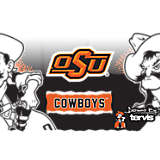 Stainless Steel Tumbler, Oklahoma State Cowboys Knockout
