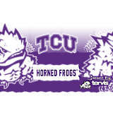 Stainless Steel Tumbler, TCU Horned Frogs Knockout