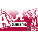 Stainless Steel Tumbler, Alabama Crimson Tide Knockout
