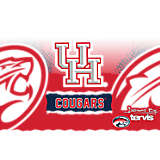 Stainless Steel Tumbler, Houston Cougars