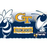 Stainless Steel Tumbler, Georgia Tech Yellow Jackets