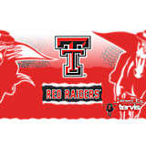 Stainless Steel Tumbler, Texas Tech Red Raiders Knockout