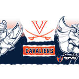 Stainless Steel Tumbler, Virginia Cavaliers Knockout