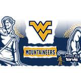 Stainless Steel Tumbler, West Virginia Mountaineers