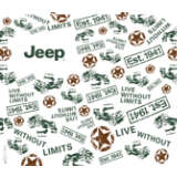 Jeep® Brand - All Over Pattern