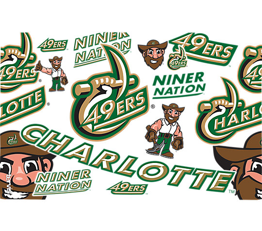 Charlotte 49ers All Over image number 1
