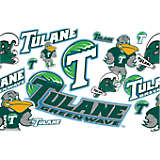 Tulane Green Wave All Over
