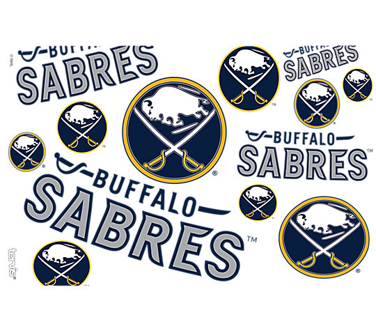 NHL® Buffalo Sabres® All Over image number 1