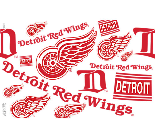 NHL® Detroit Red Wings® All Over image number 1