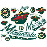 NHL® Minnesota Wild® All Over
