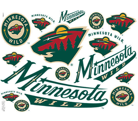 NHL® Minnesota Wild® All Over image number 1