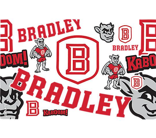 Bradley University Braves All Over image number 1