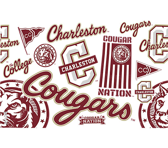 Charleston Cougars All Over image number 1