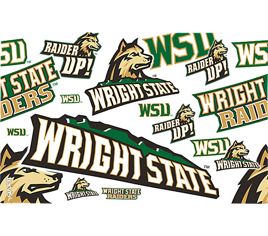 Wright State Raiders All Over