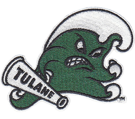 Tulane Green Wave Secondary Logo image number 1