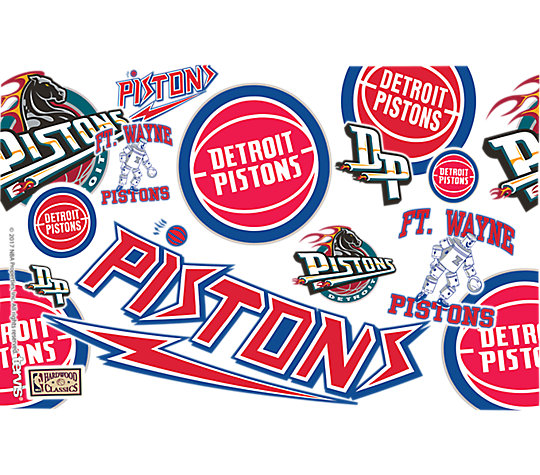 NBA® Detroit Pistons All Over
