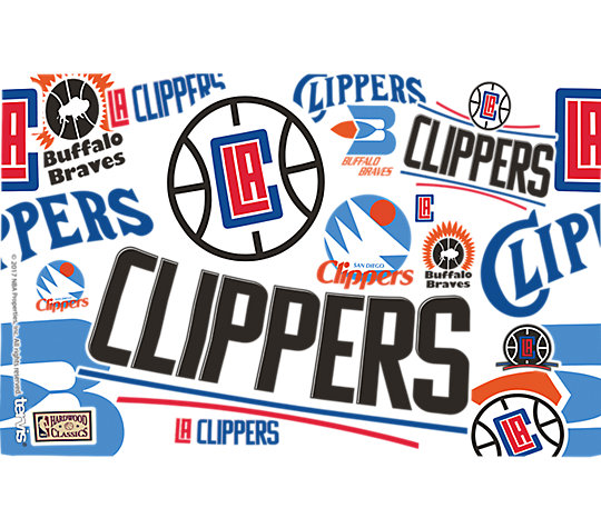 NBA® Los Angeles Clippers All Over image number 1