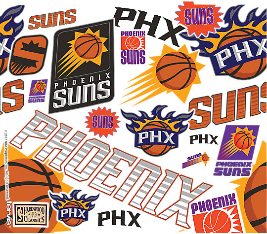NBA® Phoenix Suns All Over image number 1