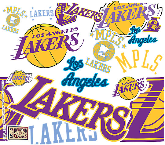 NBA® Los Angeles Lakers All Over