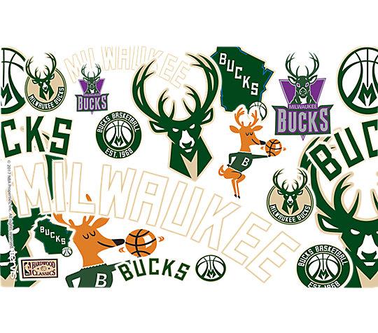 NBA® Milwaukee Bucks All Over