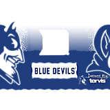 Stainless Steel Tumbler, Duke Blue Devils Knockout