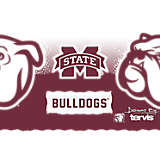 Stainless Steel Tumbler, Mississippi State Bulldogs