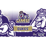 Stainless Steel Tumbler, James Madison Dukes Knockout