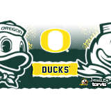 Stainless Steel Tumbler, Oregon Ducks